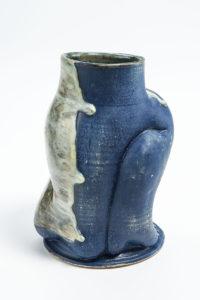 Bluesuede slicktrip Vase