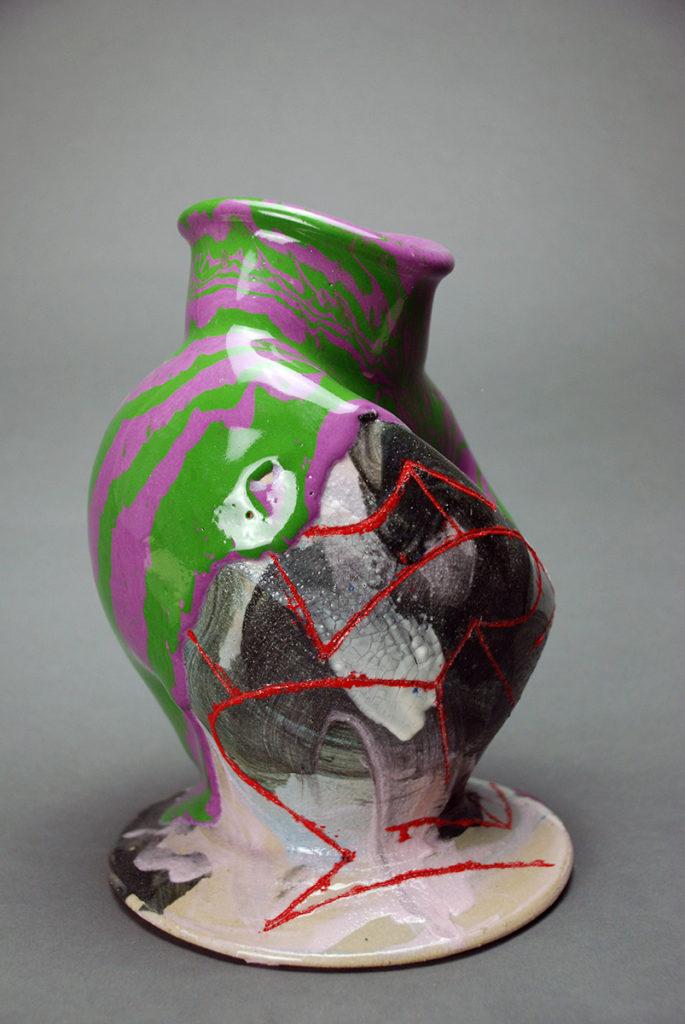 Juicy fruit Vase, view 2