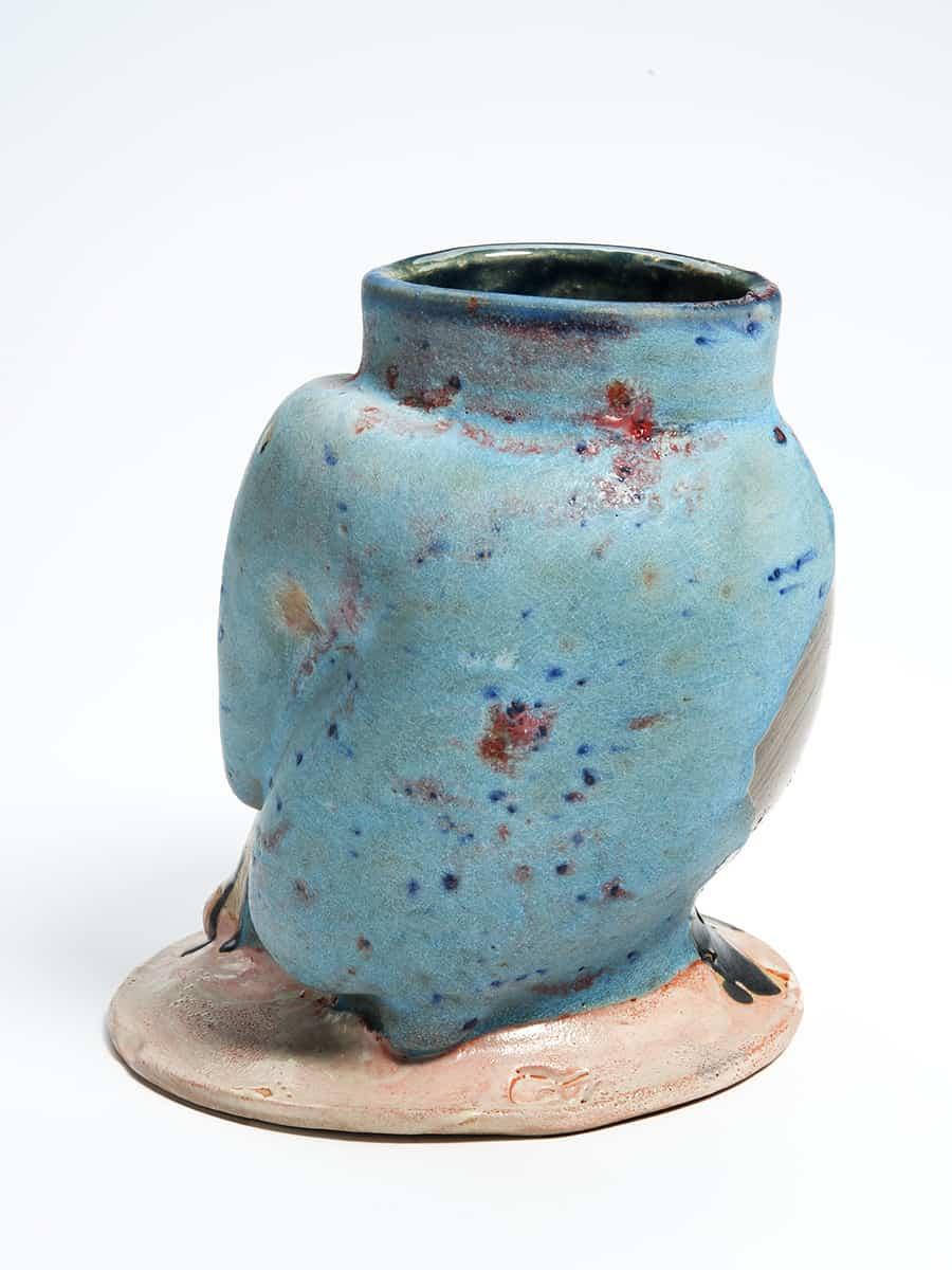 Taffybacker Vase