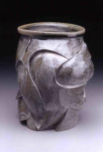 Gray vase form