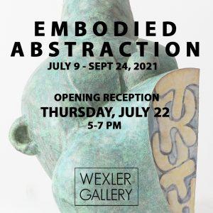 Wexler Gallery card green